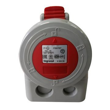 罗格朗Legrand 明装插座,IP67 380V 16A 3P+E,555358