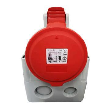 罗格朗Legrand 明装插座,IP44 380V 32A 3P+N+E,555259
