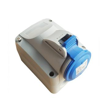 罗格朗Legrand 明装插座,IP44 230V 32A 3P+E,555255