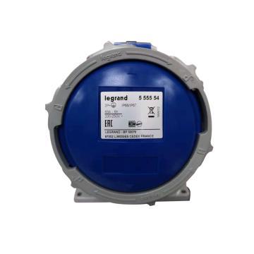 罗格朗Legrand 明装插座,IP 66/67 AC 200/250V 63A 2P+E,555554