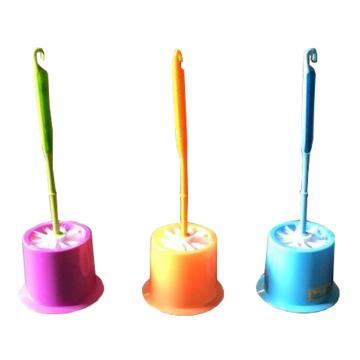 塑料长柄厕所刷,颜色随机