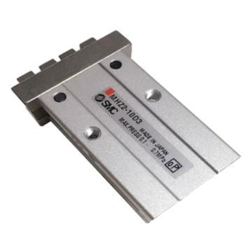 SMC 平行开闭型气爪,单作用(常开),扁平手指型,MHZ2-10S3