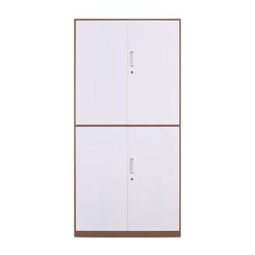 拆装咖白通双节柜,900宽*400深*1850高,咖白色,钢板厚度为0.8mm
