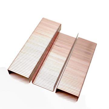 美特封箱钉,钉径2.25*0.73mm,宽34.7mm,长18mm,1600支/盒,3518