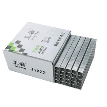 美特J10系列码钉,钉径1.15*0.58mm,宽11.2mm 长10mm,5000支/盒,J1010