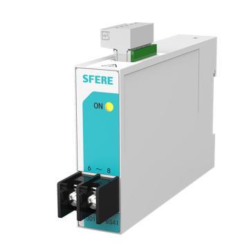 斯菲尔/SFERE 单路电流变送器,JD194-BS4I(0.5级) In:AC5A OUT:DC4-20mA