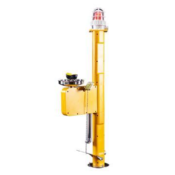 博化 立式电伴热洗眼器(304不锈钢+黄色ABS),含脚踏