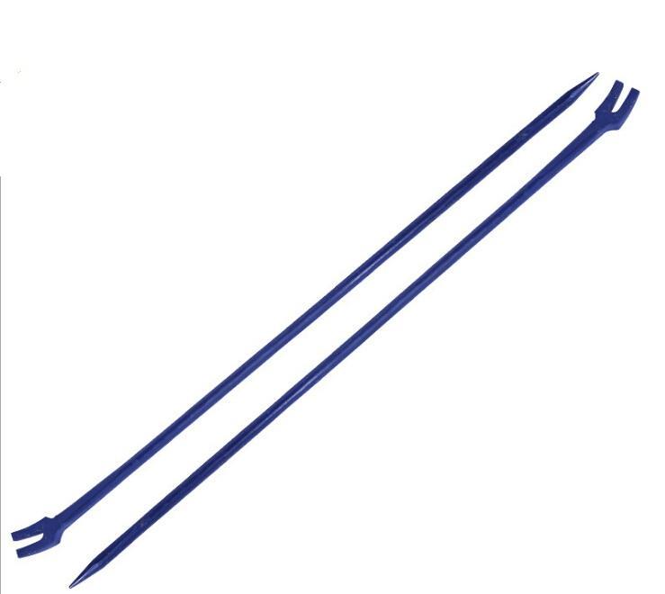 铁路专用撬棍,加重型加粗撬棍 一头尖开口撬棍,羊角撬棍,长1.5米