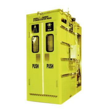 博化 综合洗眼站(制冷、加热型,304不锈钢材质),2800×1000×2550mm(长×宽×高)
