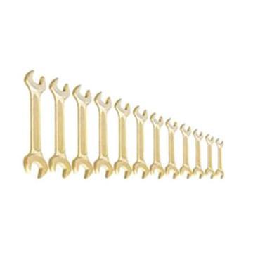 渤防 防爆12件套双头呆扳手,铝青铜,12件套,1046AL
