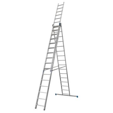 金锚 铝合金多功能组合梯 踏棍数:3 x 16 最大承重(KG):260 人字梯高度(米):4.29,CE3x16