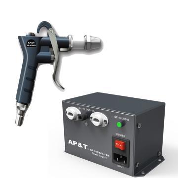 安平 离子吹尘枪2把,高压电源供应器1台,一拖二,AP-AC2456*2+AP-AC2455-28B