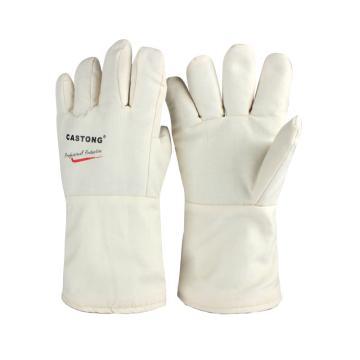 卡司顿 隔热手套,NCCC15-34,300°5指耐高温手套