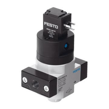 费斯托FESTO 截止阀,电控,两位三通,HEE-1/4-D-MINI-24,165071