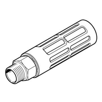 费斯托FESTO 消音器,外螺纹,金属,U-3/4-B,6845