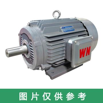 皖南 YE3超高效三相异步电机,YE3-90S-6,0.75KW,B35,R(接线盒在右)