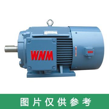 皖南 YXVF高效变频三相异步电机,YXVF80M1-2,0.75KW,B5,R(接线盒在右)