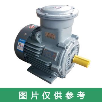 皖南电机WNM YB3隔爆型三相异步电机,YB3-90S-8,0.37KW,B35,T(接线盒在上)