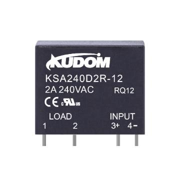 库顿 交流输出型固态继电器KSA240D2-5 2A 24-280VAC 4-6VDC控制