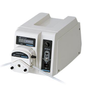 蠕动泵,兰格,BT300-2J,显示转速,转速范围:1-300rpm,流量范围:1.7-870ml/min