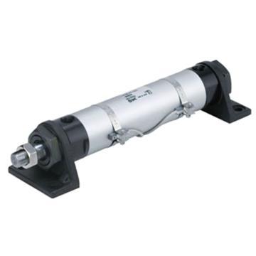 SMC 圆型液压缸,轴向脚座型,CHML25-75