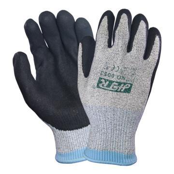 海太尔 5级防割手套,0053-9,超级防割丁腈手套,235mm