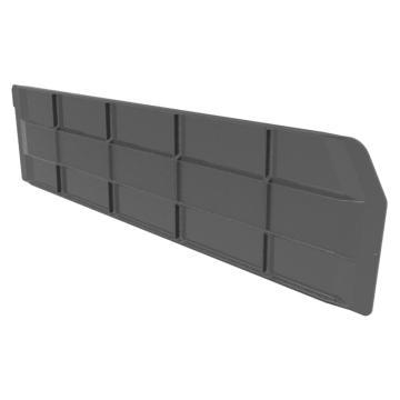 Raxwell 纵向分隔板,TK-H600,PS材质,加强筋结构,搭配TK6215/TK6315/TK6415,黑色