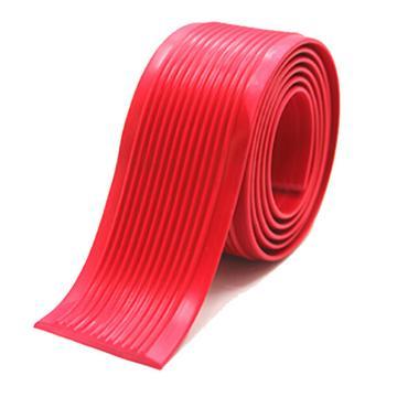安赛瑞 自粘式PVC楼梯防滑条-红,PVC材质,覆3M背胶,40mm×30m,厚度3mm,13830