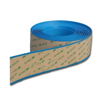 安赛瑞 自粘式PVC楼梯防滑条-蓝,PVC材质,覆3M背胶,40mm×30m,厚度3mm,13832