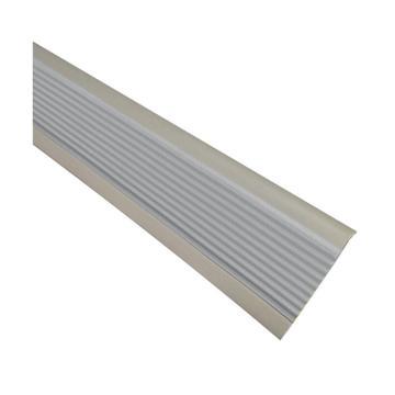 安赛瑞 PVC楼梯包边防滑条-灰,PVC材质,50mm×25m,厚度3mm,13864