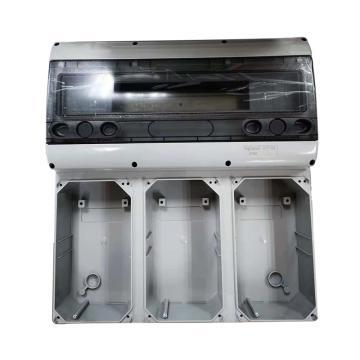 罗格朗/legrand 配电箱,明装底座 2位 12模数 16A,057706(10个起订)