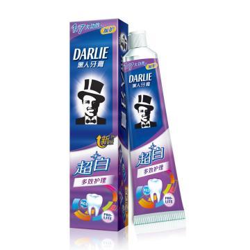 黑人darlie牙膏,超白多效护理140g