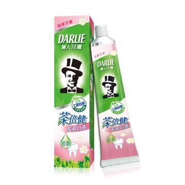 黑人darlie牙膏,茶茉莉白茶90g