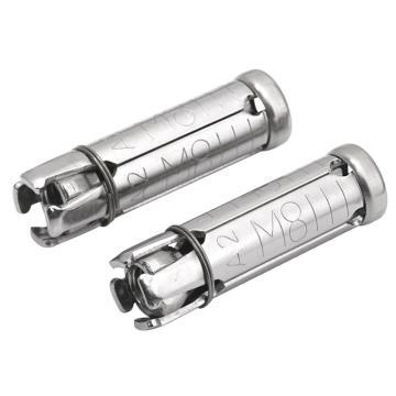 四片式膨胀管,M8,不锈钢304,洗白,100个/盒