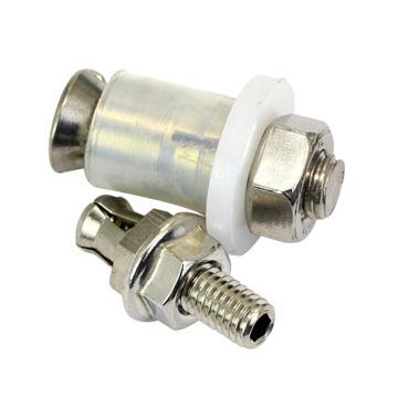 抗震背栓(皮套),M8*32,不锈钢304,洗白,150个/盒