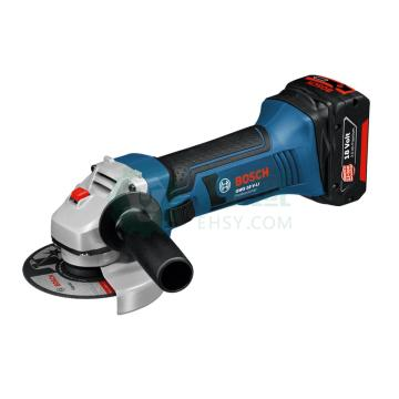 博世Bosch充电式角磨机GWS18V-Li/100,2*6.0Ah套装,GWS18V-Li-6.0Ah套装