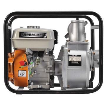 伊藤动力 3寸汽油机抽水泵自吸泵,YT30WP,手启动,最大吸程8米
