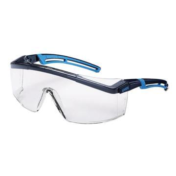 优维斯UVEX 防护眼镜,9064065,astrospec 2.0 安全眼镜 镜框:蓝/深蓝 镜片:透明 UV 2-1.2
