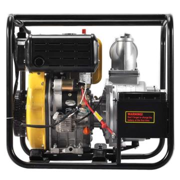 伊藤动力 4寸柴油机抽水泵自吸泵,YT40DPE,电启动,最大吸程8米