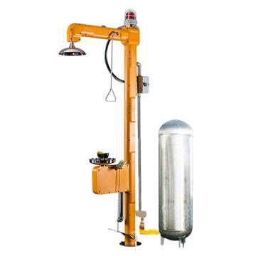 博化 电加热罐体复合式洗眼器(304不锈钢+ABS),含脚踏