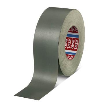 德莎 耐温丙烯酸涂层布基胶带,灰色,长度:50m,宽度:25mm,型号:tesa-4657