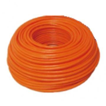 山耐斯 SUN RISE 聚氨酯编织软管,φ12×8-100M/卷-桔色,PU-1280-2-I/B
