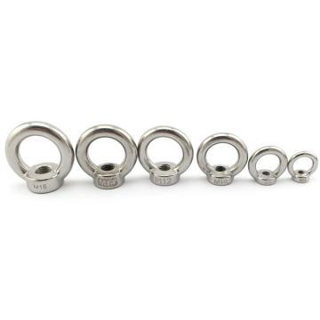吊环螺母,M8,不锈钢304,洗白,50个/盒