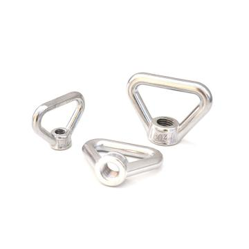 环形螺母,M12,不锈钢304,洗白,25个/盒