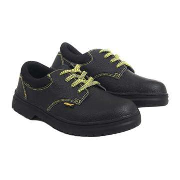 羿科 安全鞋,60725128-38,耐高温橡胶底 防砸防静电