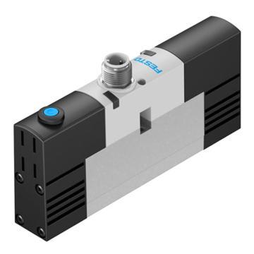 费斯托FESTO 两位五通电磁阀,板式阀,单电控,VSVA-B-M52-MH-A2-1R5L,546768