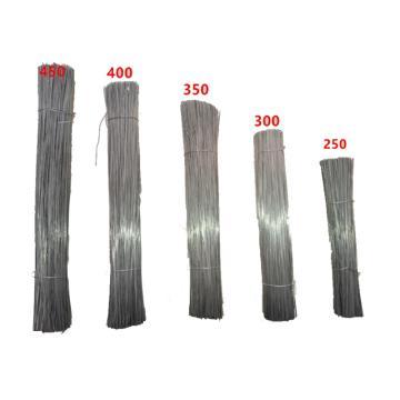 镀锌铁丝,22#、300mm,铅丝 绑丝 扎丝 钢筋绑扎丝,大约10KG/捆 一包8800根左右