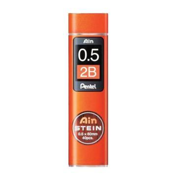 派通 铅笔芯,0.5mm C275-2B每管装40支铅芯 单位:管