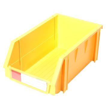 力王 组立零件盒,340*200*155mm,全新料,PK-003-黄色,单位:个
