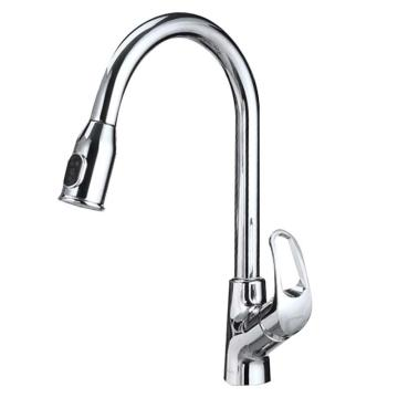 九牧 可抽拉厨房龙头健康冷热龙头可旋转多种出水,33053-208/1B2-Z